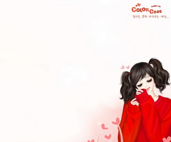 女生专用安卓高清壁纸推荐,韩国女孩精美卡通壁纸.