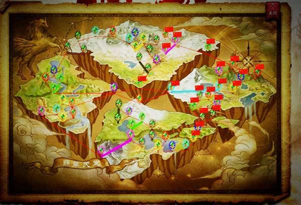 在神域争霸中占领一百张军团地图传奇传记图片